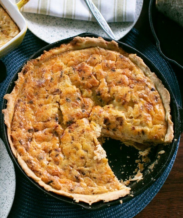 Sweet Potato and Bacon Quiche | Photo Courtesy of Ann's Entitled Life