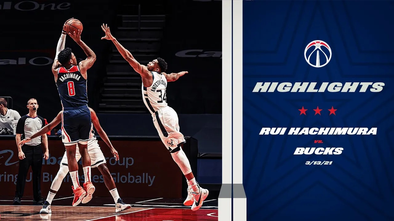 Rui Hachimura 29pts 11reb vs MIL | March 13, 2021 | 2020-21 NBA Season