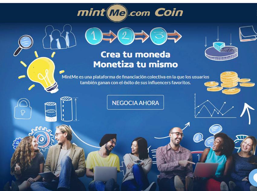Qué es MintMe Coin