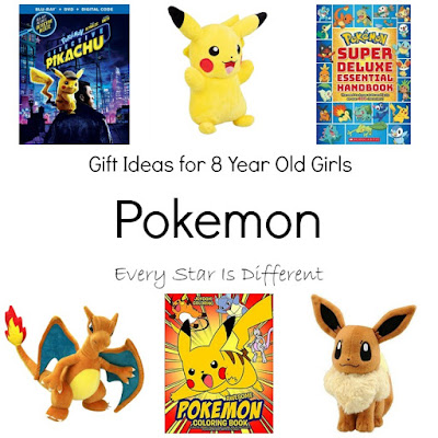 Pokemon Gift Ideas for 8 Year Old Girls