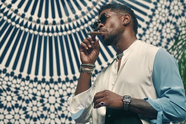 "Usher ""Don't Waste My Time"" video is OUT NOW."