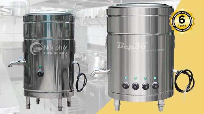 Tìm hiểu về bộ nồi nấu phở công nghiệp đa năng của thương hiệu Bep36
