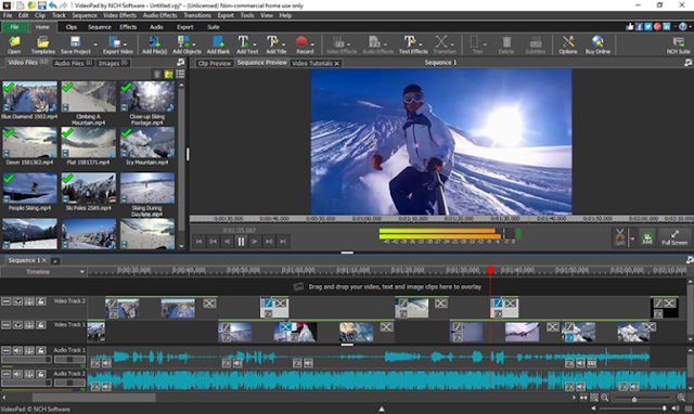 VideoPad Video Editor Pro 8.10