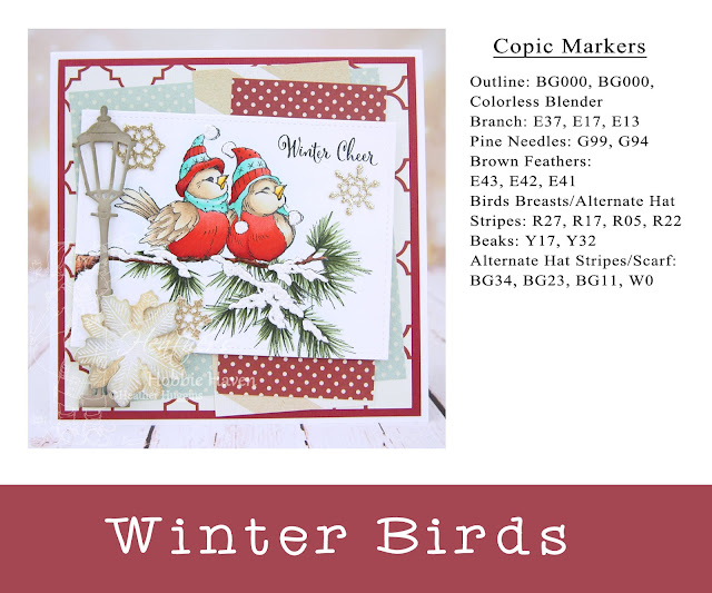 Heather's Hobbie Haven - Winter Birds Card Kit