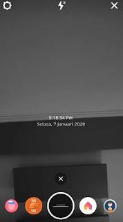 Cara Agar Efek TXT Instagram ada tanggal dan waktunya