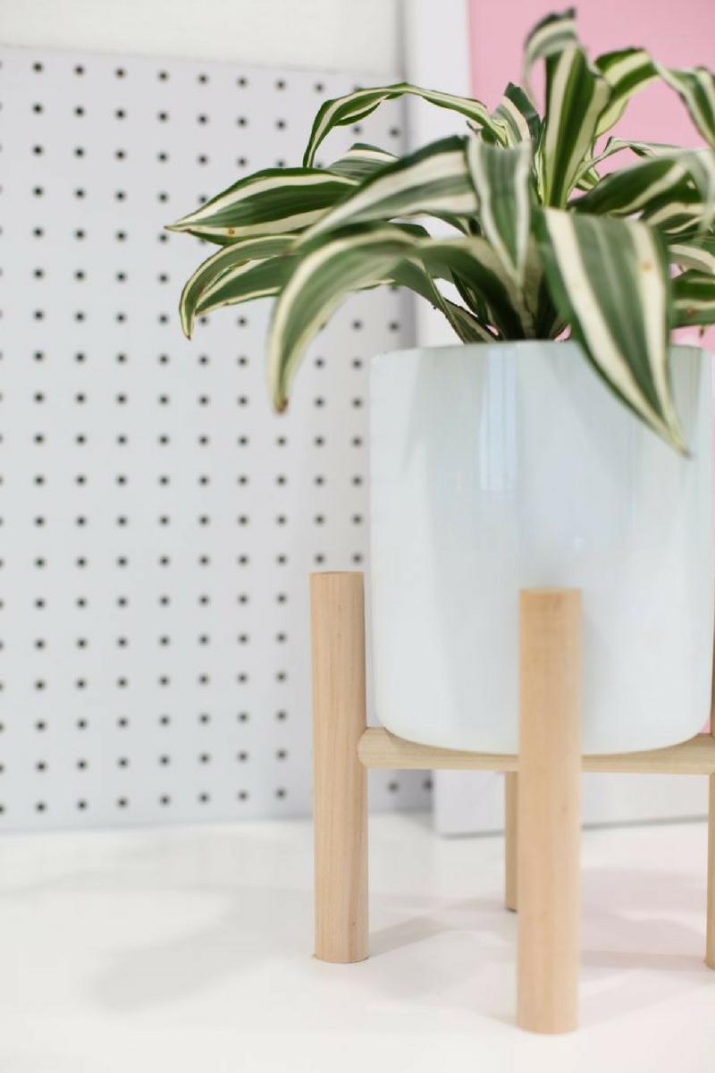 Diy stand para planta de estilo nórdico by Habitan2 | Decoración handmade para hogar y eventos