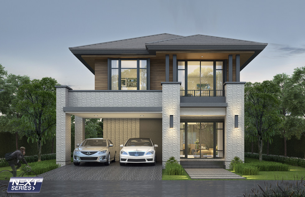 Many people say that there's always something to look forward to a two-story home. Two-story would be a smart way to maximize space. If you are planning to build a two-story house, check this out if the ones we've gathered suit your styles! Here are 12 two-story homes you should see before designing your home from Seacon Home Builders.   House Design No. 1   This house has an area of 199 square meters designed with three bedrooms and three bathrooms. It has a parking space for two cars. The construction budget estimate for this house is $57,000 to $76,000.  The exterior color combination of this house and its glassy window makes this two-story home so modern and beautiful!  House Design No. 2  This house is a modern tropical two-story home perfect for a mid-sized family since it has four bedrooms and three bathrooms. The total floor area of this house is 185 square meters with a parking space that can accommodate two cars.   The balconies on the upper floor will make you enjoy the advantage of having a two-story home!  House Design No. 3  A contemporary two-story home with an estimated budget of  $57,000 to $76,000. The total living area of this beautiful home is 193 square meters and it has four bedrooms and three bathrooms. Parking space is good for one car!  House Design No. 4  With a total living space of 172 square meters, this house is perfect to have three bedrooms and two bathrooms. This house plan is ideal for the small-sized lot. All you need is a land with a size of 15.30 by 12.80. This house has three-bedrooms, two-bathroom, and single parking area. Estimated budget is $57,000 to $76,000.  House Design No. 5  A beautiful two-story modern blue house with an estimated budget of $33,000 to $57,000! The total living area of this house is 168 square meters! It has three bedrooms, two bathrooms and a parking space for two cars! You need land with a size of 11.70 by 15.30 for building this house.   House Design No. 6  A beautiful garden home with a total land a