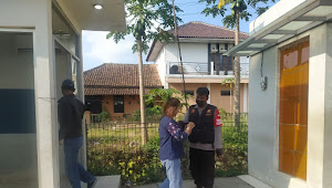 Patroli Polsek Cicalengka Polresta Bandung Sambangi ATM