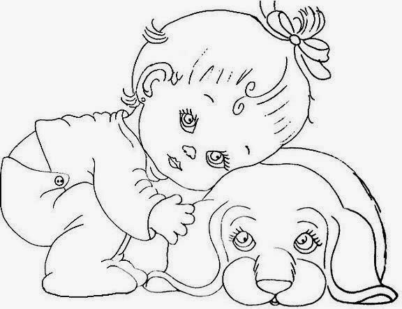 Riscos E Rabiscos: Meninas Bebes