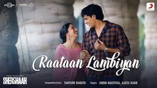 Raataan Lambiyan Lyrics in Hindi (हिंदी) – Shershaah   Jubin Nautiyal, Asees Kaur