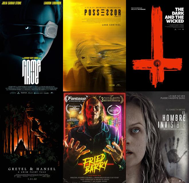 Mejores películas terror del 2020