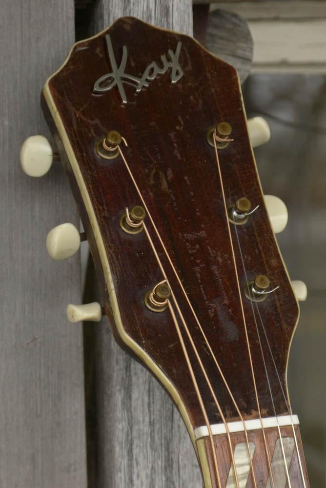 1950s Kay K 22 Jumbo Flattop Guitar