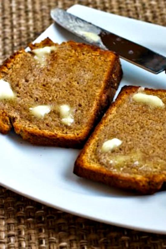 100% Whole Wheat Brown Soda Bread found on KalynsKitchen.com