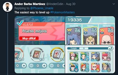 Pokemon Masters Hard Core Level Up