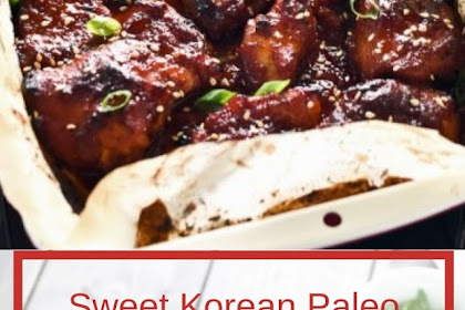 Sweet Korean Paleo Chicken Thighs