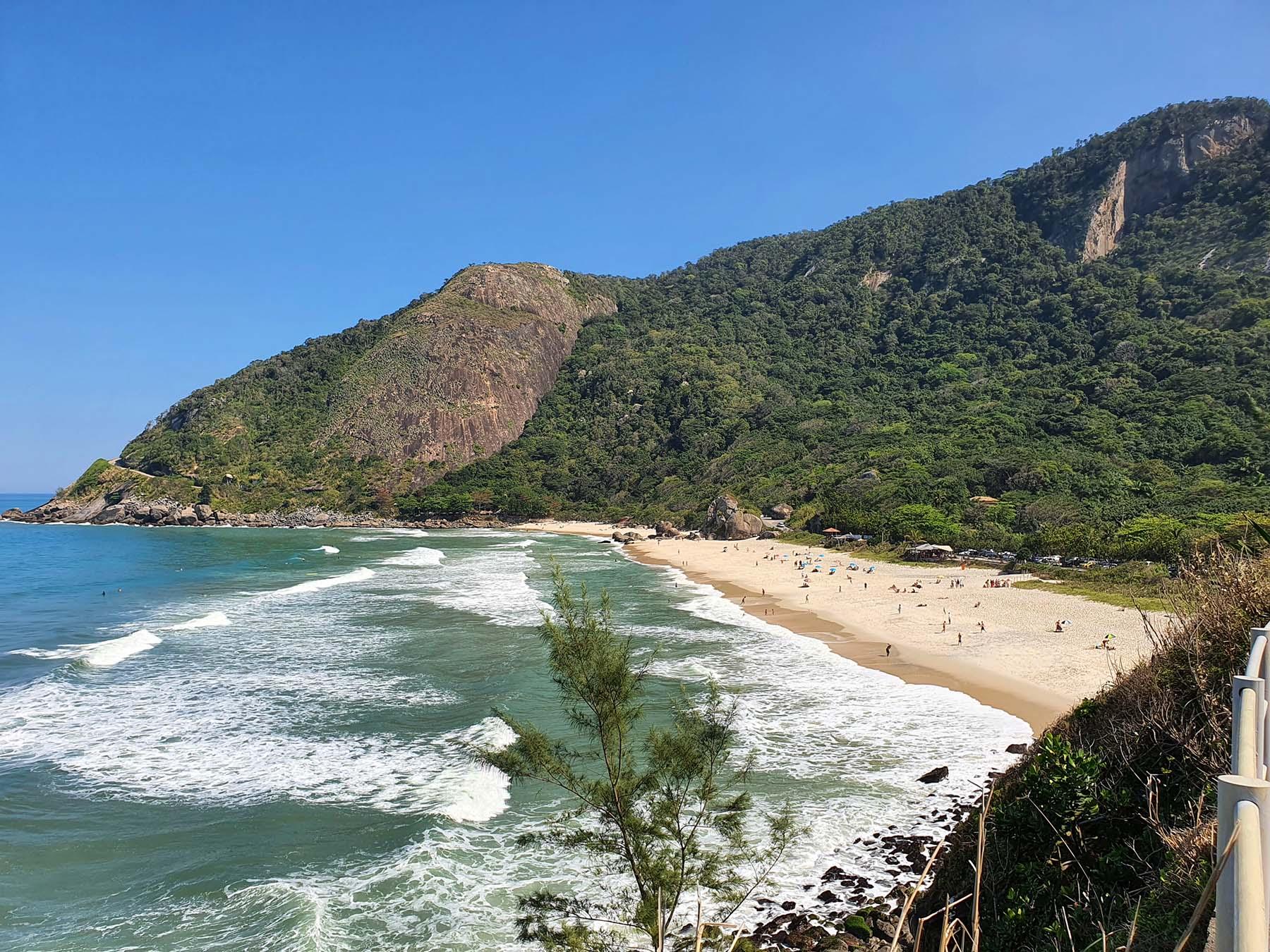 Mirante da Prainha no Rio de Janeiro