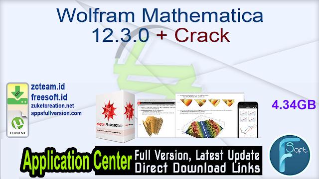 Wolfram Mathematica 12.3.0 + Crack_ ZcTeam.id
