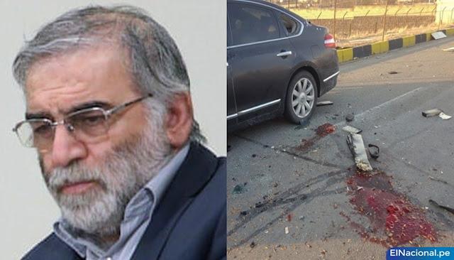 Asesinan a destacado científico nuclear iraní,  Mohsen Fakhrizadeh