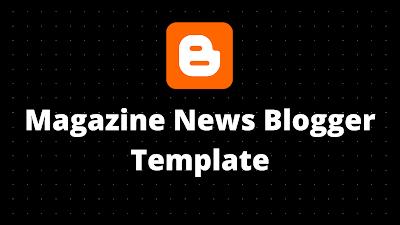 TOP 10 news blogger template