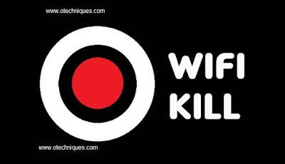 برنامج  wifi kill الرائع لقطع قطع النت عن أي جهاز متصل بشبكك .