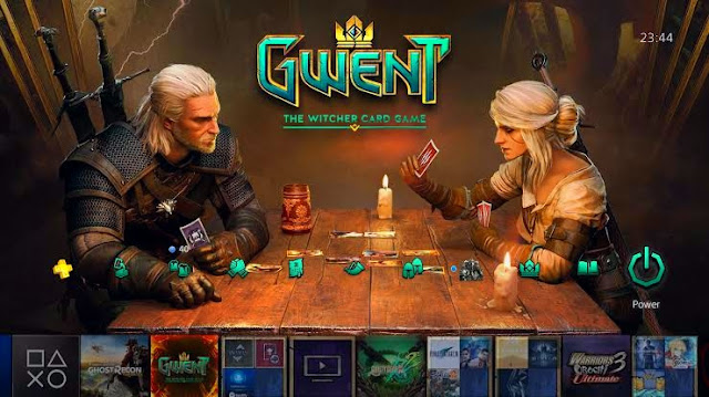 """The closed beta release of the """" GWENT """" card game on smartphones"""