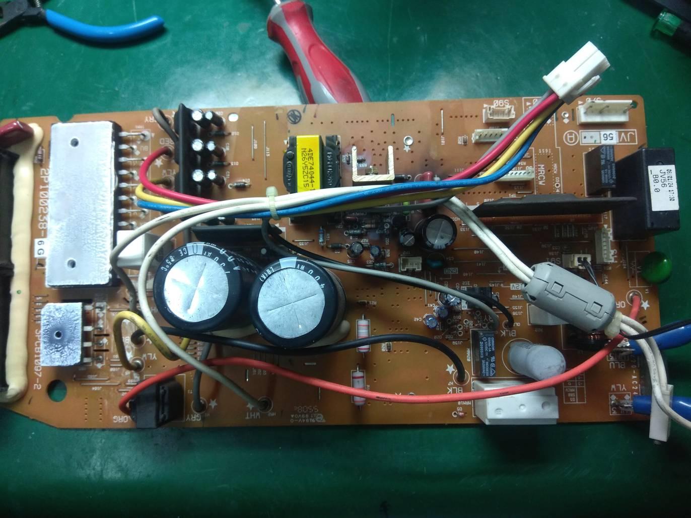 高動維修: 大金 DAIKIN 變頻冷氣 FTKE35BVMT 故障維修