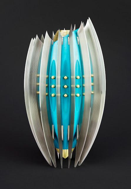 Metal Art, Flower Vase