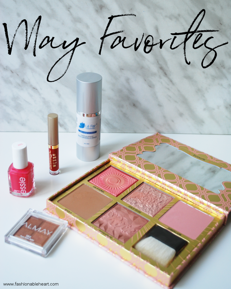 bbloggers, bbloggerca, beauty blog, essie, peach daiquiri, stila, stay all day, liquid lipstick, beso, almay, shadow squad, pure gold baby, eyeshadow, benefit, blush bar, galifornia, gold rush, hoola, dandelion, rockateur, le fair skin, age defying serum, skincare, red lips, drugstore, sephora