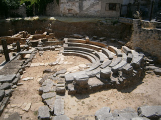 το θέατρο της αρχαίας Αμβρακίας