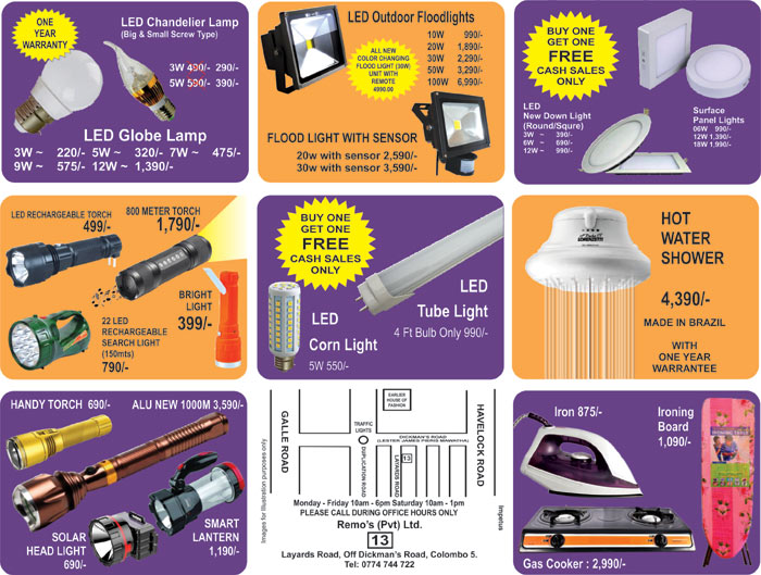 Wide range of LED Bulbs by RSL