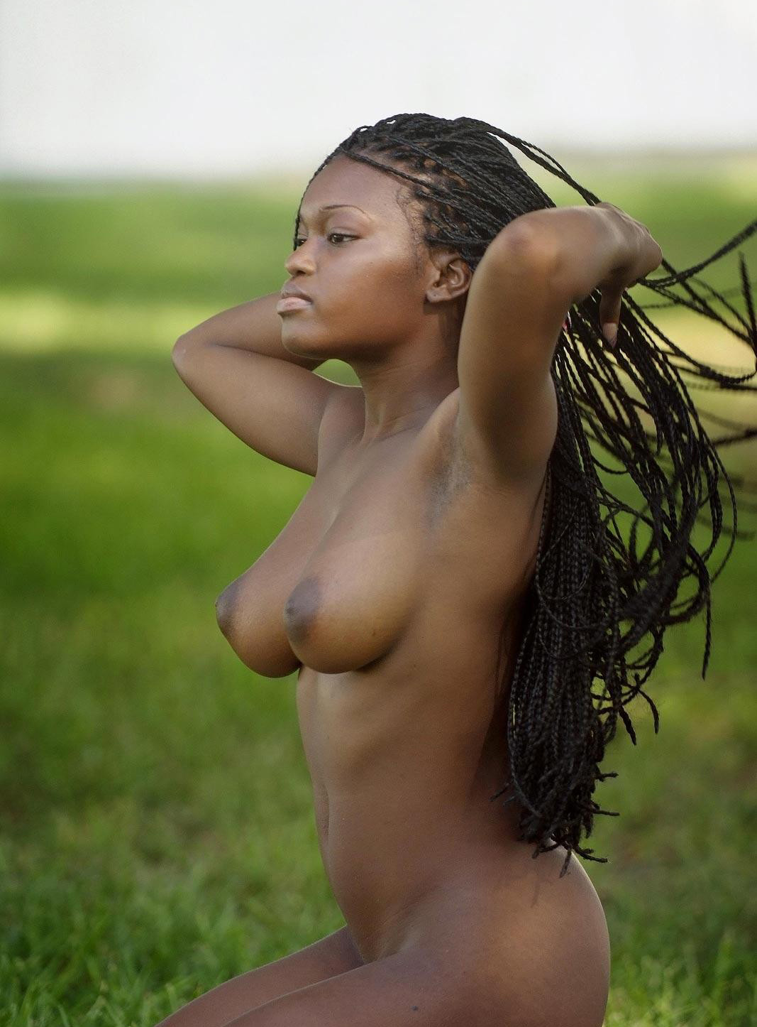Native African Tits 26