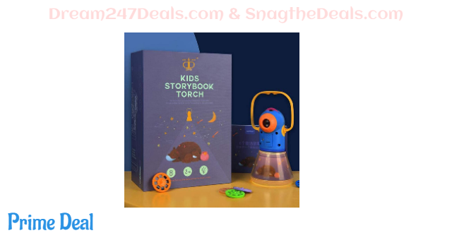 Story Projection Torch with Night Light 30%OFF
