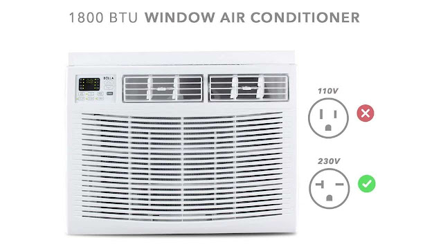 Della Window Air Conditioner