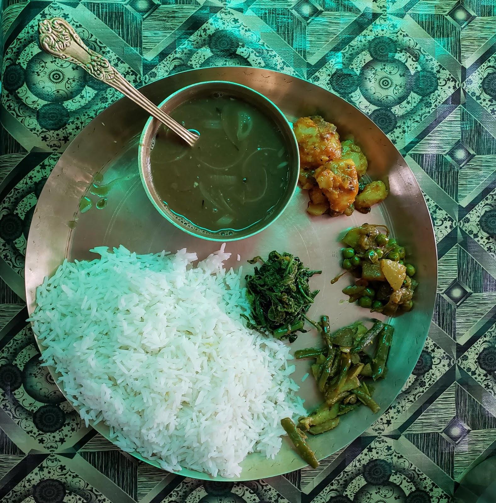 सिक्किम का वेज़ खाना