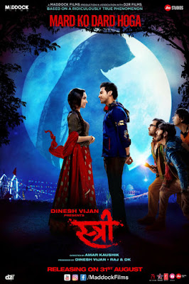 Stree (2018) Hindi{CLEANED} 720p Pre-DvDRip x264 AC3 Full Movie   Watch Online   Download   Gdrive
