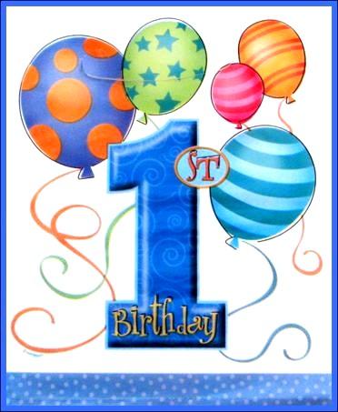 baby boy happy 1st birthday wishes