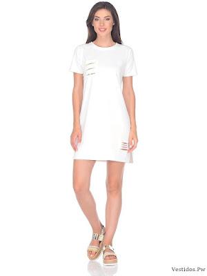 b8fb87e2e de 100 Ideas de Vestidos Blancos Originales ¡Nuevas Tendencias ...