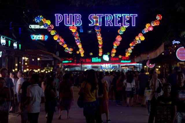 Pub Street, Kawasan Wisata Malam di Siem Reap, Kamboja Bukan Sekedar Penuh Dengan Bar Dan Minuman Beralkohol