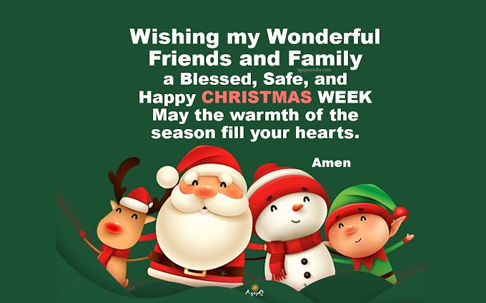 Wishing my Wonderful Friends and Family