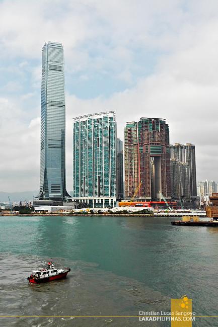 Kowloon Skyscrapers Hong Kong