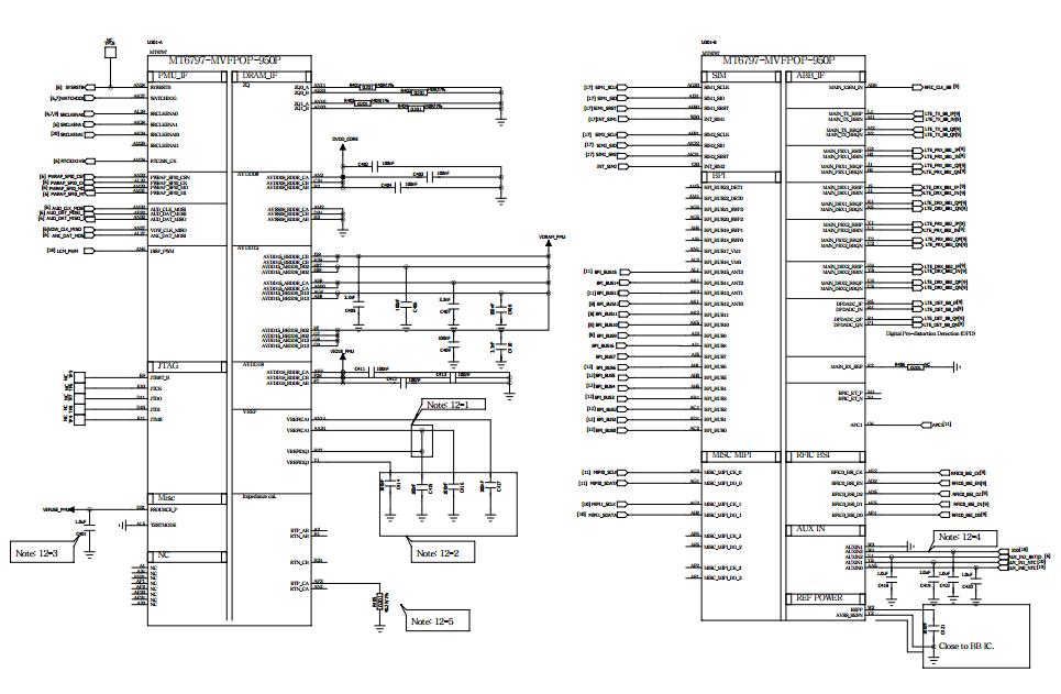 Redmi Note4 Mtk Schematic Diagram