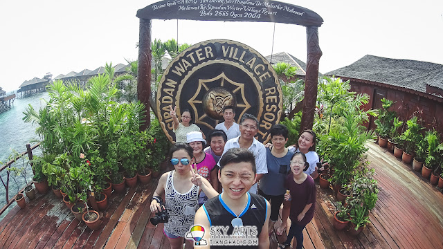 Paid a visit to Sipadan Water Village Resort