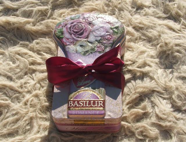 Poczuj się romantycznie z herbatami od Basilur