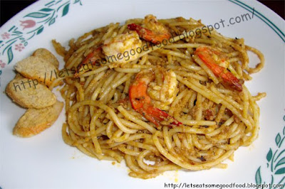 Shrimp%2Band%2BAligue%2BPasta%2B2 - Quick Shrimp Recipes - Aligue and Shrimp Pasta