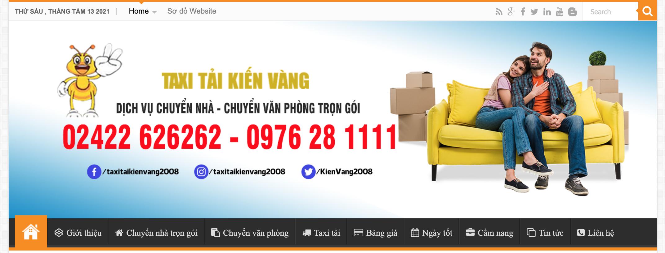 TOP 5 dịch vụ chuyển nhà trọn gói uy tín nhất ở Hà Nội