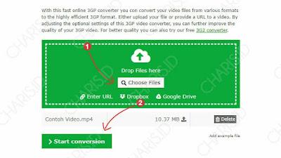cara mengubah format file ke mp4 pc