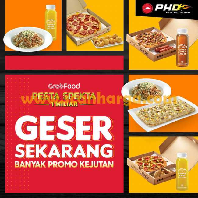 Promo Phd Pizza Pesta Spekta Grabfood Bulan Januari 2020 Scanharga