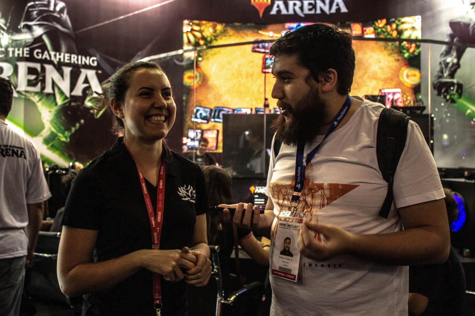BGS 2018: MTG Arena e Magic Puzzle Quest, jogos feitos por fãs para