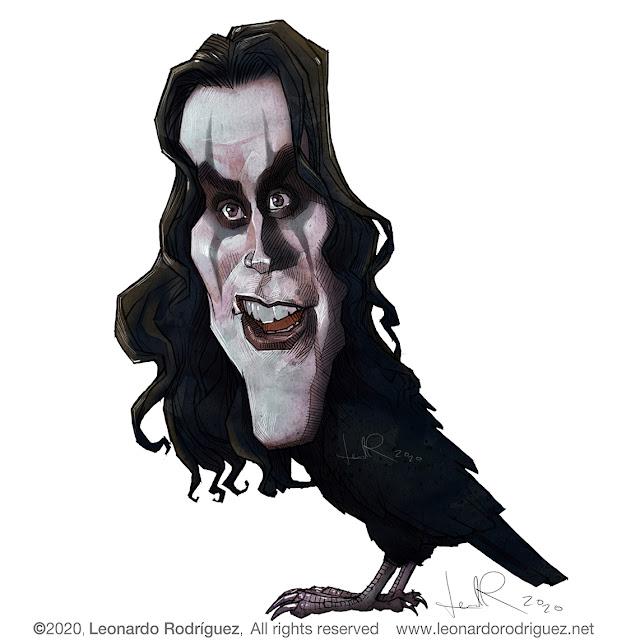 Caricaturas en barcelona-Leonardo Rodríguez+cartoonist