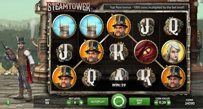 play steam tower free slot